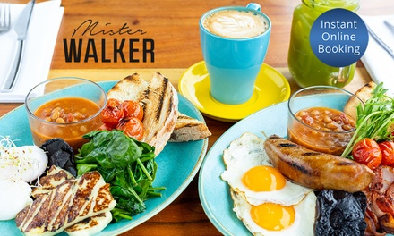 Waterfront Breakfast with Coffee for One $17, Two $33 or Four People $66 at Mister Walker Up to $118 Value