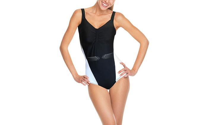 f365c0ea26 Maillot de bain 1 pièce affinant | Groupon Shopping