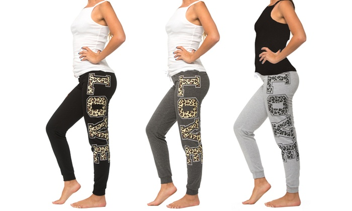 de4e644b7f Up To 82% Off on Coco Limon Women's Joggers Set | Groupon Goods