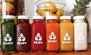 Rejuv Juice: $12 for Raw Juice and Merchandise from Rejuv Juice ($20 Value)