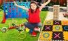 Jumbo-Sized Family Garden Games