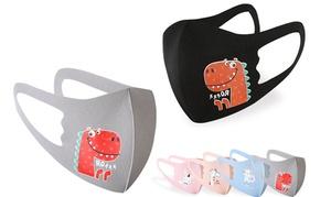 3 masques réutilisables enfant