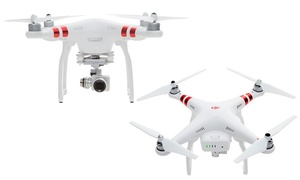 DJI Phantom 3 Standard Drone with Gimbal-Mounted 2.7K Camera (Refurb.)
