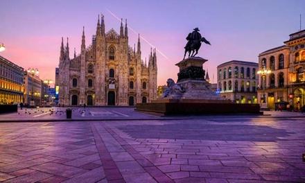 Milaan: klassieke kamer voor twee, naar keuze met ontbijt en licht diner bij Espresso Hotel Darsena