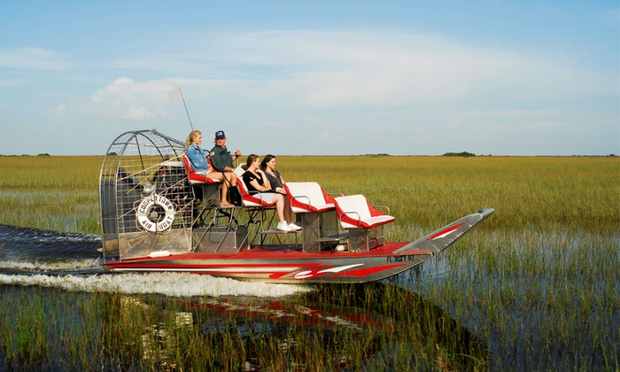 Coopertown Airboats - From $17 - Miami, FL | Groupon