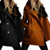 Women's Double-Breasted Coat