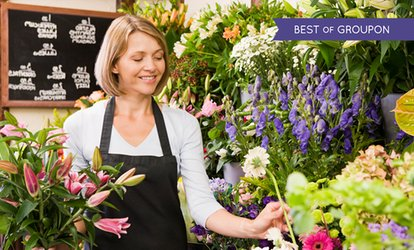 image for Three-Hour Floristry Lesson For Beginners for £39.99 at School of Floristry (60% Off)