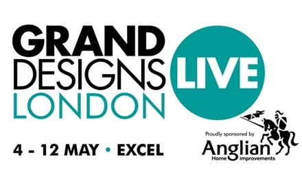 Grand Designs Live, 4–12 May at ExCeL Centre