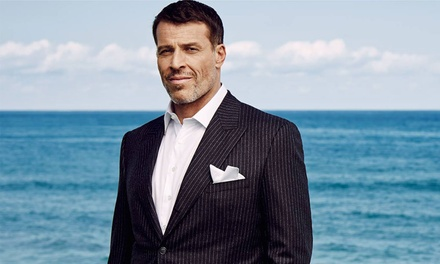 The Ultimate Wealth and Achievement Summit feat. Tony Robbins and Gary Vaynerchuk on May 2 at 8 a.m.