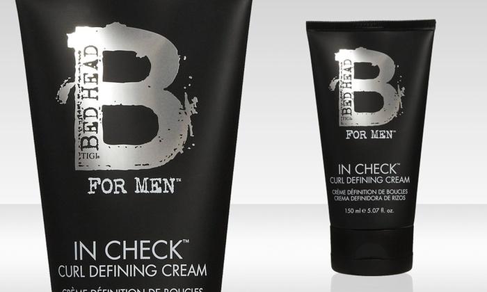 Tigi Bedhead for Men In Check Curl Defining Cream: Tigi Bedhead for Men In Check Curl Defining Cream; 5.07 Fl. Oz.