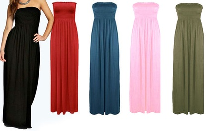 Bandeau Maxi Dress Available up to Size 20