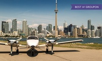 C$149 for a 100km Aerial Tour of Toronto for Two with Champagne at Greater Toronto Airways (C$350 Value)
