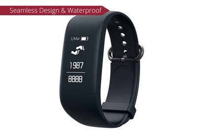 Waterproof Touch Screen Activity Tracker with Heart Rate Monitor: One $39.95 or Two $74.95