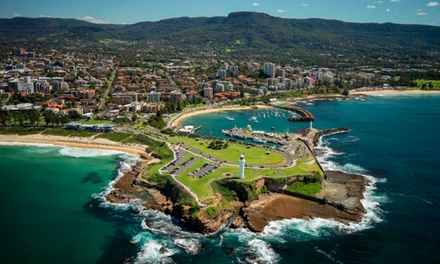 Wollongong: One or Two-Night Stay with Bottle of Wine, Parking and Late Checkout for Two People at Marketview