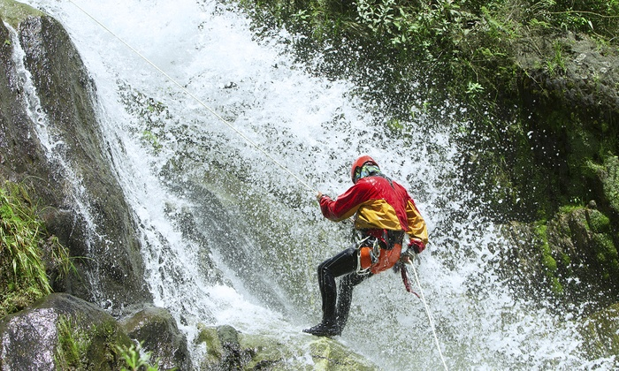 Hikehi Island Explorers - Honolulu: Full-Day Waterfall Rappelling Trip for Two or Four from Hikehi Island Explorers (Up to 40% Off)
