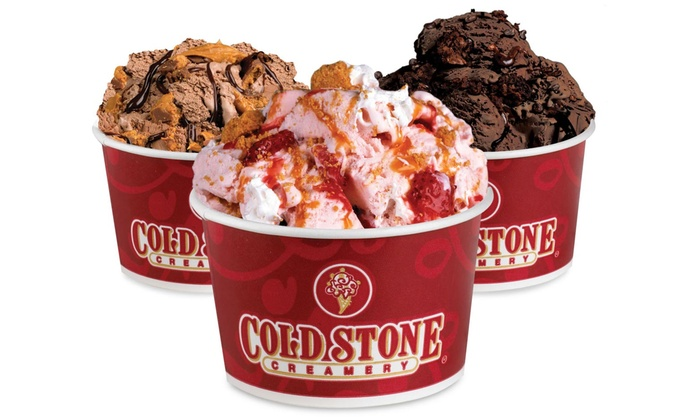 Cold Stone Creamery - Multiple Locations: Ice Cream, Frozen Yogurt, and Shakes, or Signature Cakes and Cupcakes at Cold Stone Creamery (50% Off)
