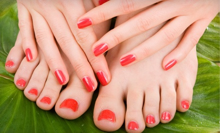 Mani-Pedi (a $30 value) - Shears The Salon in Sacramento