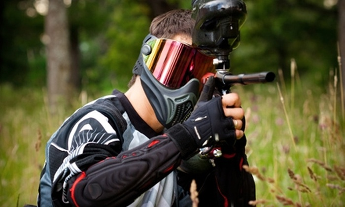 Midway Paintball - Vacaville: $25 for All-Day Entry, Equipment, Air, and 200 Paintballs at Midway Paintball in Vacaville ($50 Value)