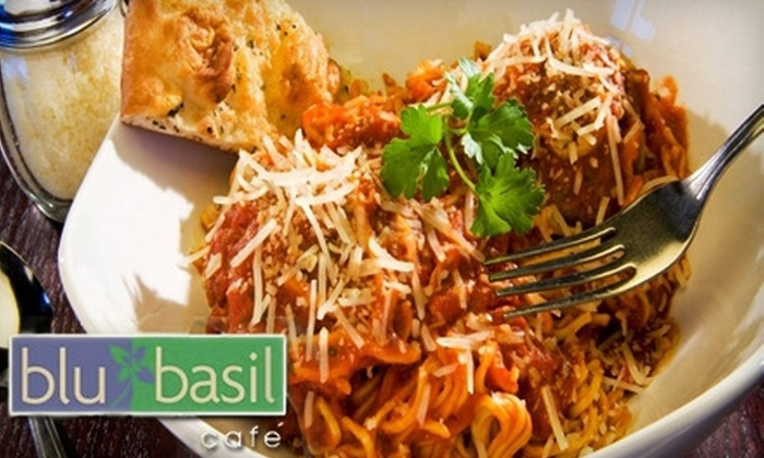 blu basil café  - Cotswold: $20 for $40 Worth of Italian Cuisine at blu basil café