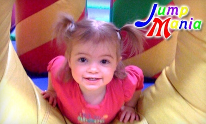 Jump Mania - Springfield: $10 for a $20 Gift Card to Jump Mania