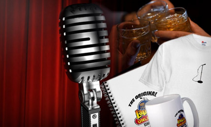 Laughs Unlimited - Central Sacramento: Comedy Outing for Two with $10 Toward Food and Drink at Laughs Unlimited (Up to 67% Off). Three Options Available.