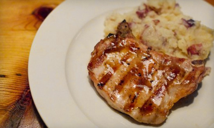 Porkchop - West Town: American Comfort-Cuisine Dinner for Two, Four, or Six at Porkchop (Up to 52% Off)