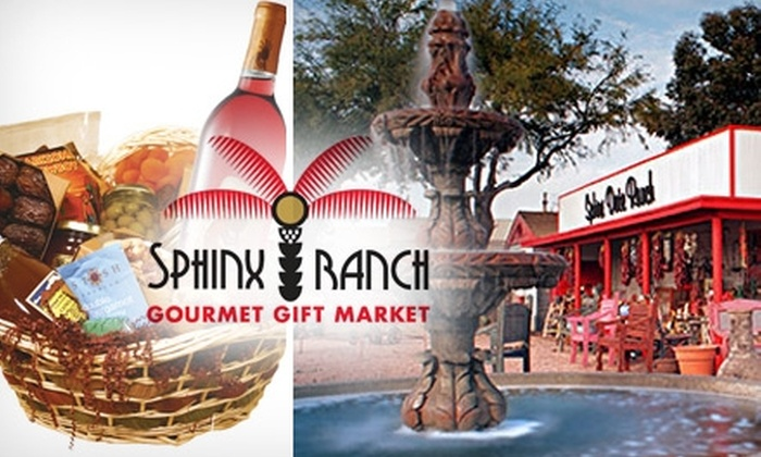 Sphinx Ranch Gourmet Gift Market - South Scottsdale: $12 for $25 Worth of Gourmet Items at the Sphinx Ranch Gourmet Gift Market