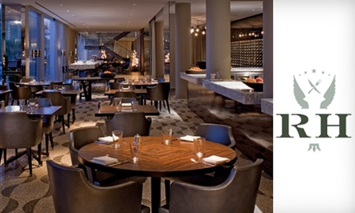 RH in the Andaz - Hollywood Hills: $25 for $50 Worth of Southwestern French Cuisine at RH in the Andaz Hotel