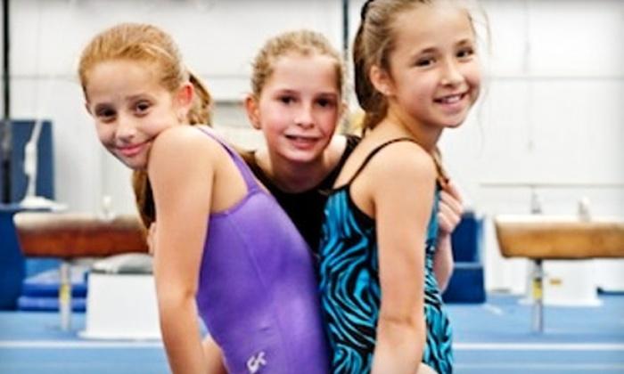 Iron Cross Gymnastics - Richmond: One Month of Children's Gymnastics Classes or One Week of Summer Camp at Iron Cross Gymnastics in Richmond
