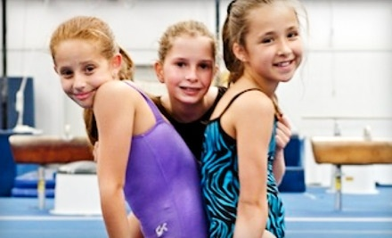 Iron Cross Gymnastics: 1 Month of Children's or Teens' Gymnastics Classes - Iron Cross Gymnastics in Richmond