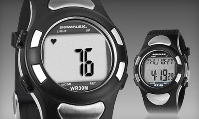 Heart-Rate Monitor Wrist Watch: $20 for a Bowflex EZ Pro Strapless Heart-Rate Monitor ($39.99 Value). Ships in 7 Business Days. May Not Arrive by 12/24.