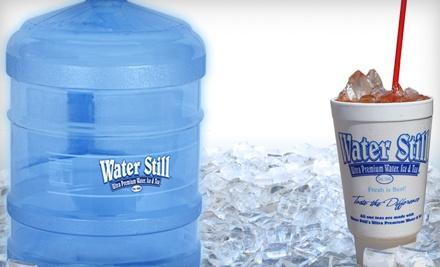 $10 Groupon to Water Still - Water Still in Amarillo