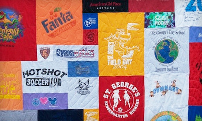 Night Owl T-Shirt Quilts - Memphis: $25 for $100 Worth of T-Shirt Quilts and Pillows from Night Owl T-Shirt Quilts