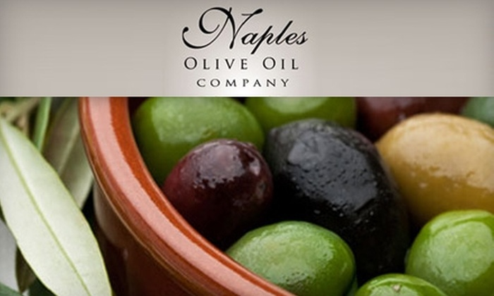 Naples Olive Oil Company - North Naples: $9 for One Bottle of Olive Oil at Naples Olive Oil Company ($18.95 Value)