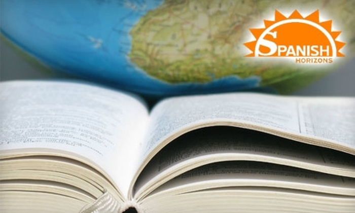 Spanish Horizons - Multiple Locations: $15 for a Two-Hour Introductory Spanish Class at Spanish Horizons ($50 Value)