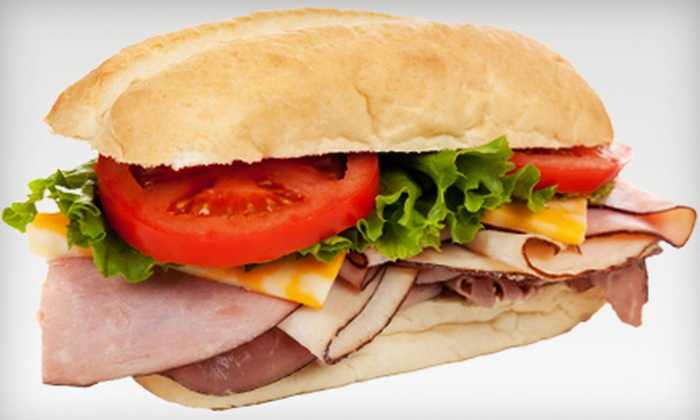 Roy's Subs & Cafe - Bridgeton: $19 for Five 12-Inch Subs at Roy's Subs & Cafe in Bridgeton ($39.95 Value)