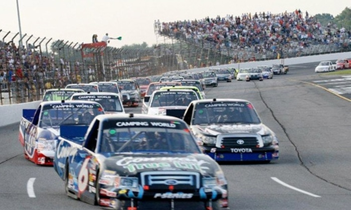 Lucas Oil Raceway - Indianapolis: $37 for Two Tickets to the AAA Insurance 200 Truck Race at Lucas Oil Raceway on July 29 at 7:30 p.m. ($74 Value)