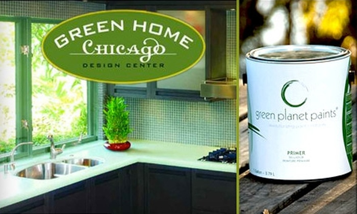 Green Home Chicago - West Loop: $31 for One Gallon of Eco-Friendly Paint from Green Home Chicago ($62 Value)
