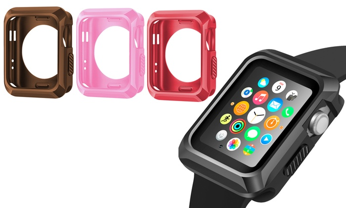 best website e70cd b02bc Up To 55% Off on Waloo Apple Watch Bumper Case | Groupon Goods