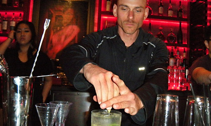 SF Mixology - Downtown: Introduction to Mixology Course for One or Two from SF Mixology