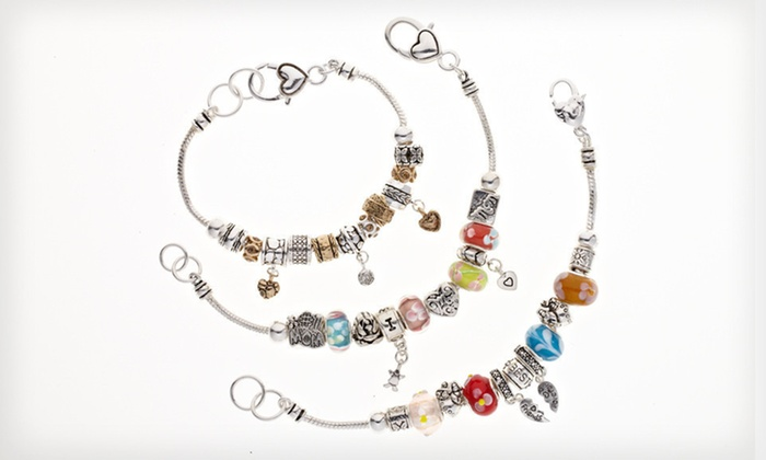 Ambrosia Charm Bracelets: $19 for an Ambrosia Charm Bracelet ($95 List Price). 15 Styles Available.