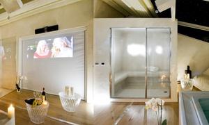 Villa la Grotta e Spa: Percorso spa in suite privata con cinema, bottiglia, fino a un'ora di massaggio e light lunch (sconto fino a 78%)