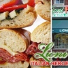 $10 for Two Subs at Lioni Italian Heroes