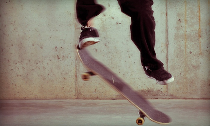 Landslide Skate Park - Clinton Township: $25 Toward Indoor Skateboarding Sessions