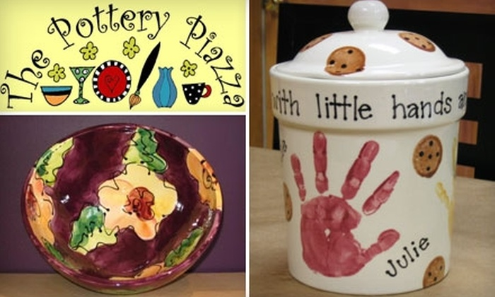 The Pottery Piazza - Plainville: $10 for $25 Worth of Pottery and Studio Time at The Pottery Piazza