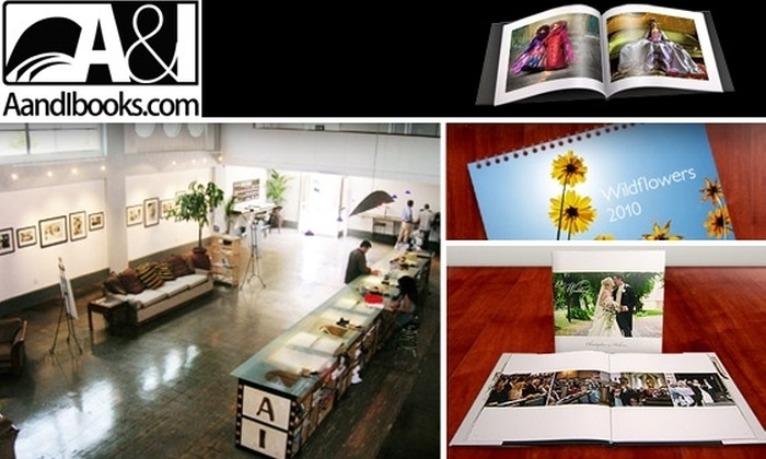 A&I Books - Portland: $20 for $60 Worth of Custom Photo Books at A&I Books