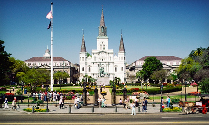 Authentic New Orleans History Bicycle Tours - French Quarter: $15 for a Three-Hour Tour from Authentic New Orleans History Bicycle Tours ($30 Value)