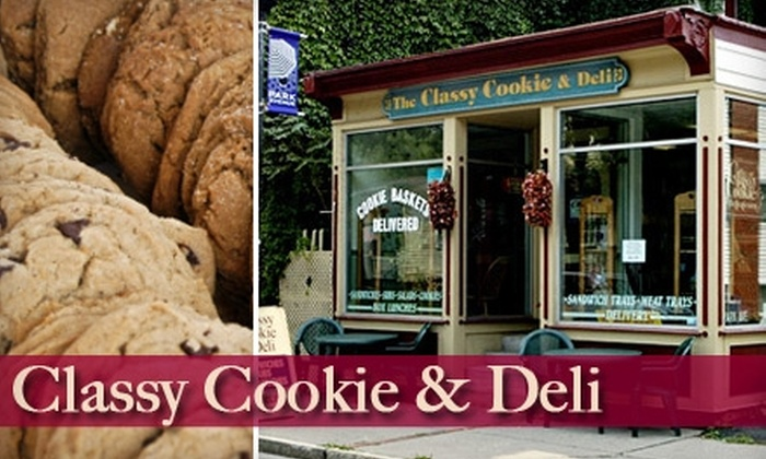The Classy Cookie and Deli - Park Avenue: $5 for $10 Worth of Sandwiches, Cookies, and More at The Classy Cookie and Deli