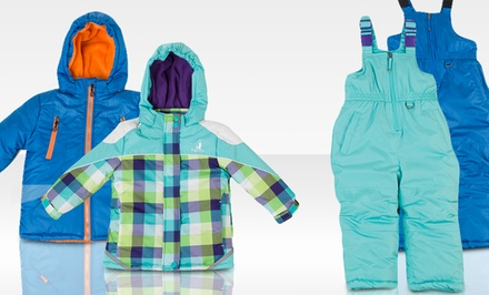 Rugged Bear Infant Boys' and Girls' Snowsuits. Multiple Colors Available.