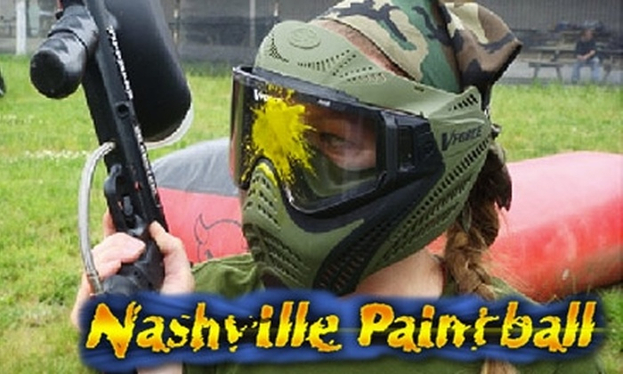 Nashville Paintball - Hoggett Ford Road: $28 for All-Day Paintball and Gear at Nashville Paintball in Hermitage ($47 Value)